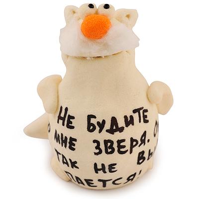 Веселые русские сувениры из соленого теста, фото