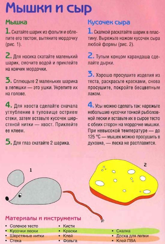 Мышки и сыр. Фото. Мастер класс