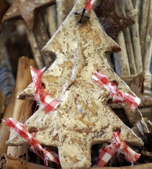 Новогодние украшения и декорации из соленого теста: елка своими руками, фото