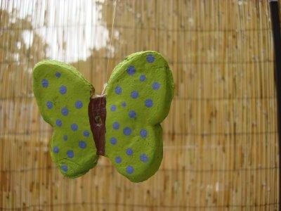 Мастер класс: как лепить бабочку из соленого теста